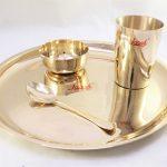Bronze (Kansa) Plate Dinner | Manjul
