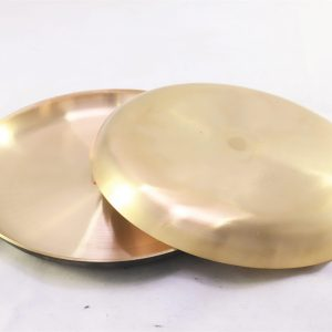 Bronze (Kansa) Salad Plate | Matt Finished
