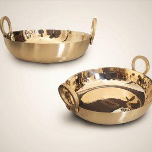 Bronze (Kansa) KADAI/KARAHI/CHEENA CHATTI