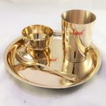 Bronze (Kansa) Dinner Set | Baby
