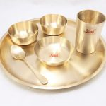 Bronze (Kansa) Dinner Set | Plate | Tripti Matt Finished