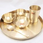 Bronze (Kansa) Dinner Set | Thali | Tripti Matt Finished