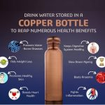 Copper (Tamba) Water Bottle | Plain | Vintage