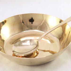 Bronze (Kansa) Serving Bowl