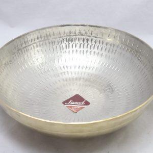 Brass (Peetal) Kadai / Cauldron – Tin (Sn) Coated