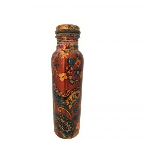 Copper (Tamba) Water Bottle | Printed – F