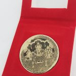Bronze / Kansa Lakshmi Pooja Coin