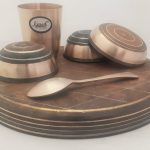 Bronze Thali Dinner Set | Garvi Gujrat